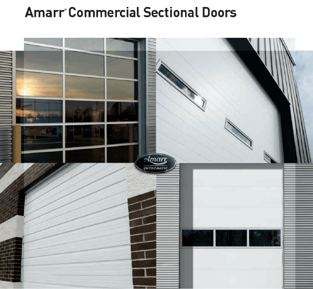 Amarr Commercial Sectional Doors – 2-01